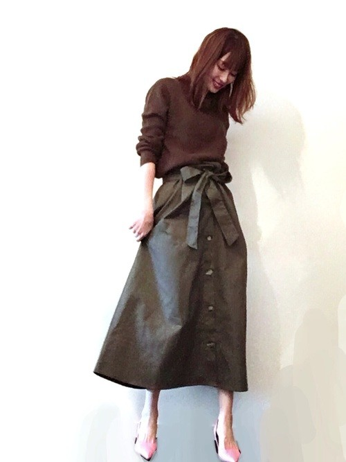 d66e96c1dcef0 ファッショニスタたちのお買い物♡春真っ先に着たいのはトレンチスカート ...