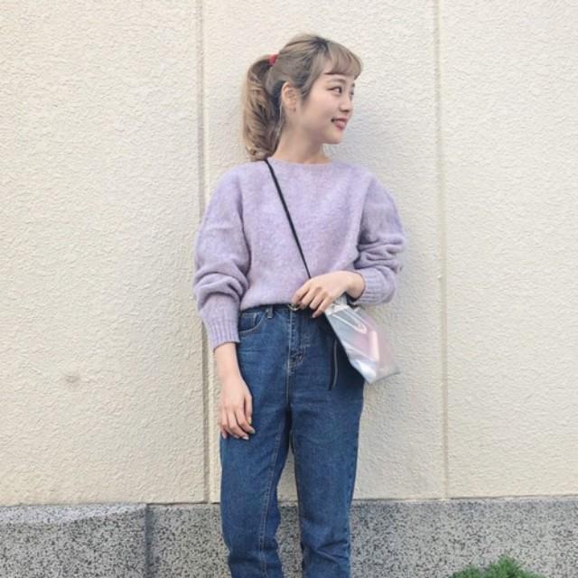 LAURIER PRESS(ローリエ プレス)のファッションまとめ「ピンクよりも女っぽ♡この春トレンド「淡めパープル」のおすすめコーデ」