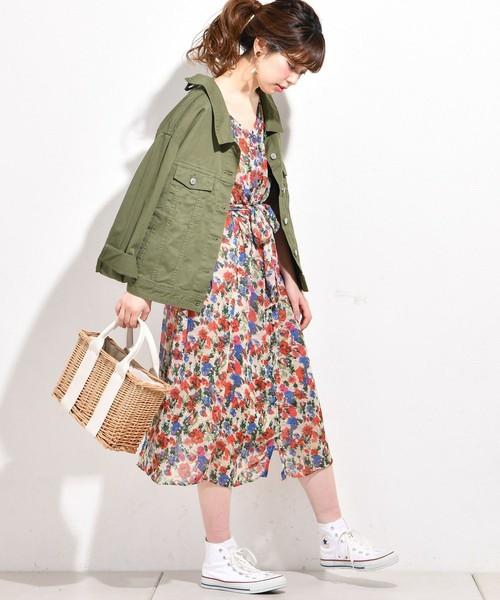 dced9f6f4a4 春は花柄ワンピースで決めよう♡着るだけでテンションが上がる、大人女子 ...