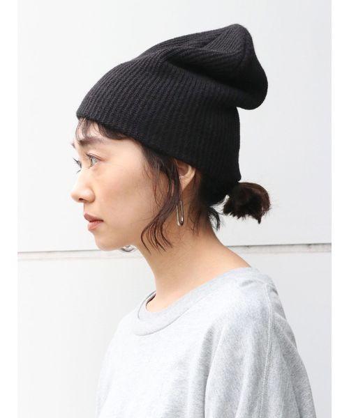 ニット帽の可愛いかぶり方をマスターしよう!髪型別ニット帽