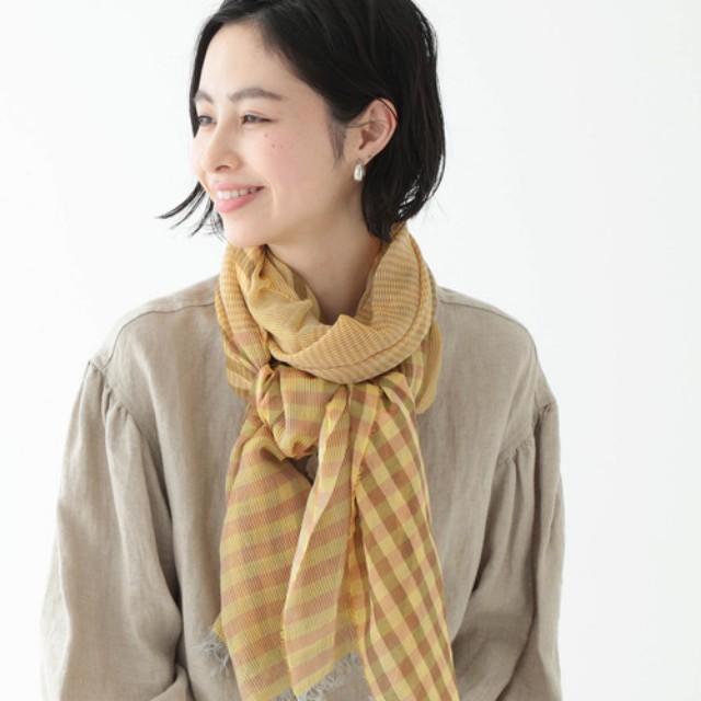 スカーフ 結び方