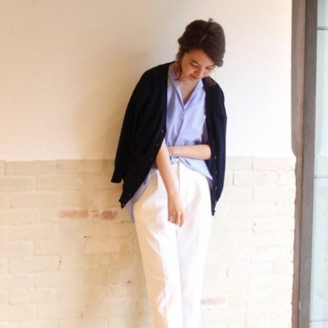 cb957c8b0d3 キナリノ(キナリノ)のファッションまとめ「カジュアルで上品な組み合わせ【シャツ×