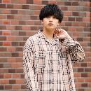 MTRL(マテリアル)のファッションまとめ「【2019年秋冬のトレンド】人気のチェックシャツとおすすめコーデ紹介8選」