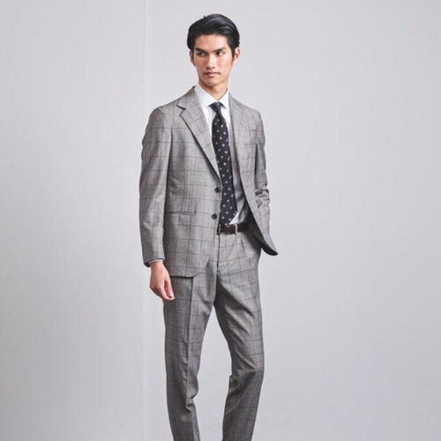 TASCLAP(タスクラップ)のファッションまとめ「無地とストライプの次に押さえたい。今欲しい、チェック柄のスーツ」