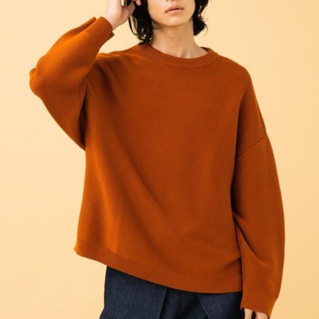 TASCLAP(タスクラップ)のファッションまとめ「今っぽさを出すなら、これ。ニットもオーバーサイズが気分です」