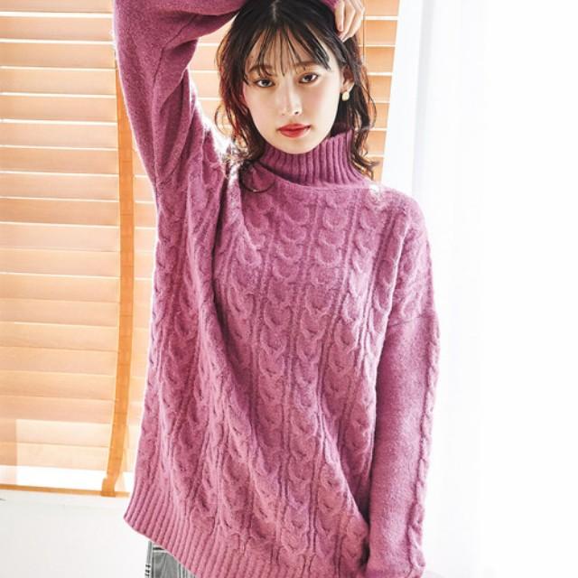 #CBK magazine(カブキマガジン)のファッションまとめ「今季マストハブのカラーニット特集! 冬コーデのマンネリ打破に活躍する4色♡」