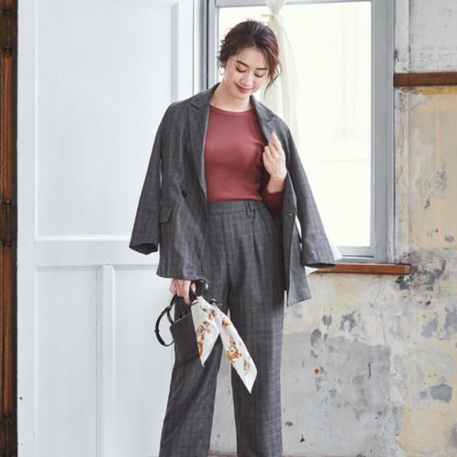 folk(フォーク)のファッションまとめ「【2020】オフィスカジュアルはセットアップが便利♪デキる女性のお手本コーデ集」