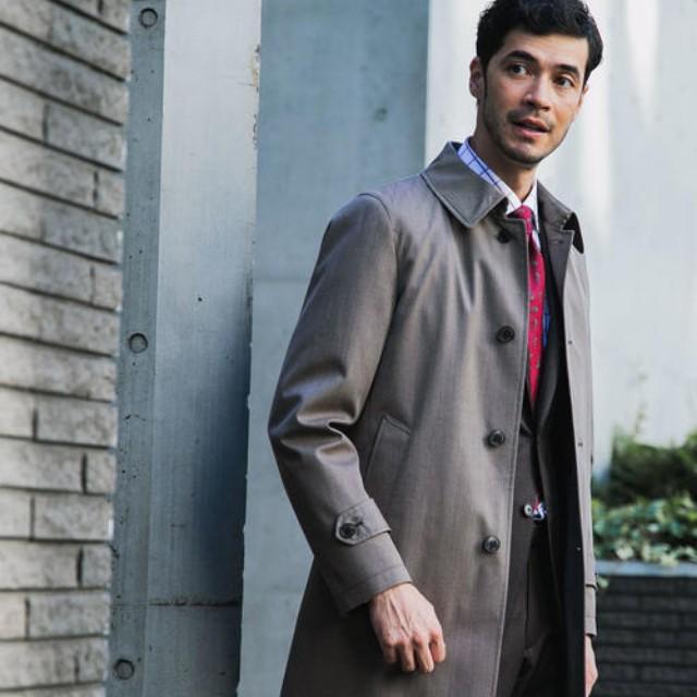 TASCLAP(タスクラップ)のファッションまとめ「ビジネスマン必見。ビズシーンに重宝する大人顔のコート」