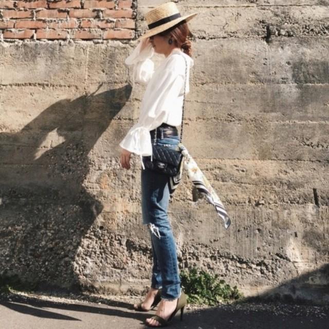 bd1560a21d9fb2 PONTE(ポンテ)のファッションまとめ「モリ袖しよ♡この春一