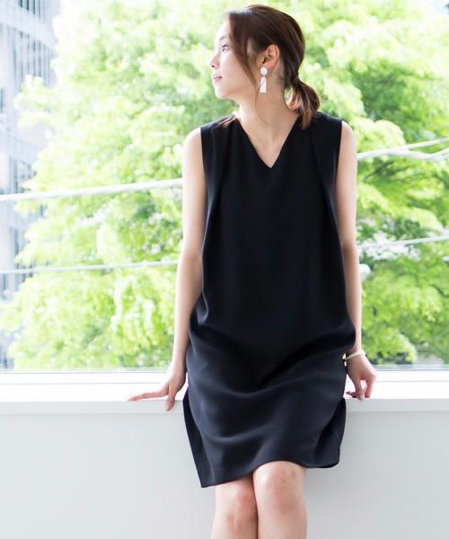 """b250f10bb8b6e アレンジは無限大!着回し服が欲しいなら""""リトル黒ワンピ""""一択なんです ..."""