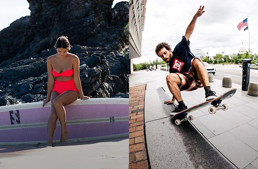 人気サーフ&スケートファッション