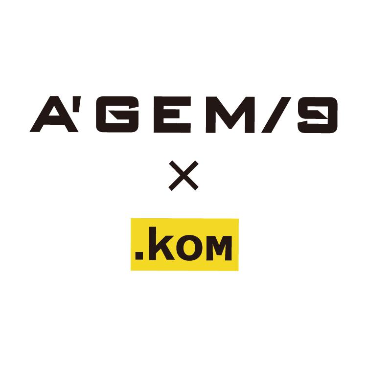 A'GEM/9 × .kom