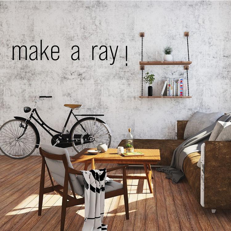 make a ray!