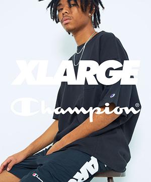 XLARGE(エクストララージ)のショップニュース「【XLARGE】XLARGE×Champion発売」