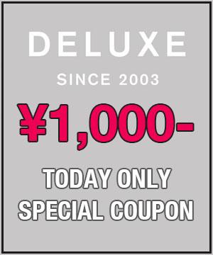 DELUXE(デラックス)のショップニュース「【DELUXE】本日限定!1000円OFFクーポン配布中!」