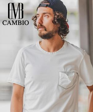 CAMBIO(カンビオ)のショップニュース「【小さなこだわり】ワンポイントTシャツ」