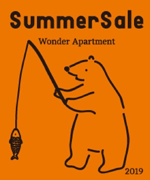712144da9cb933 Wonder apartment(ワンダーアパートメント)のショップニュース「SUMMER SALE☆本日スタート!