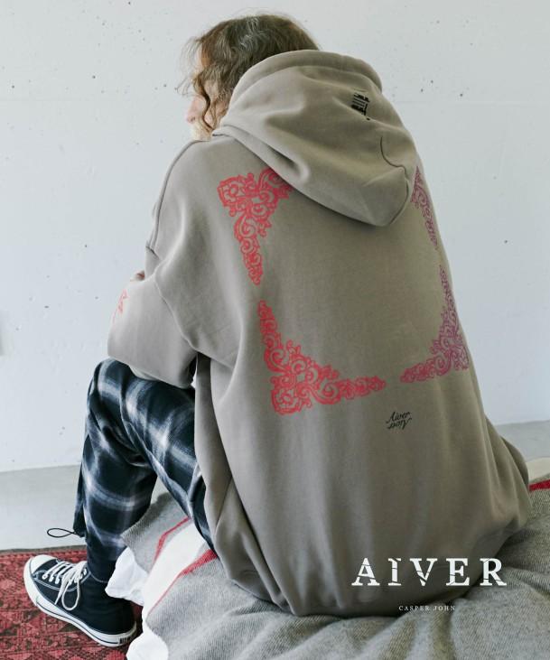 CASPER JOHN AIVER(キャスパージョン アイバー)のショップニュース「【RECOMMEND!】◇AIVER ORIENTAL BIG HOODIE◇」