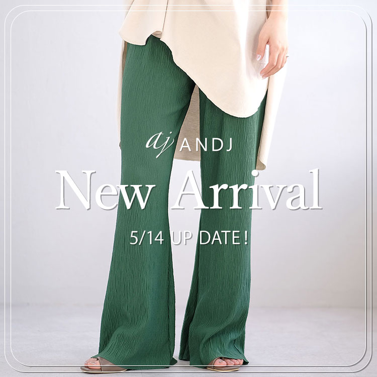 ANDJ(アンドジェイ)のショップニュース「【NEW ARRIVAL】今週の新作商品!」