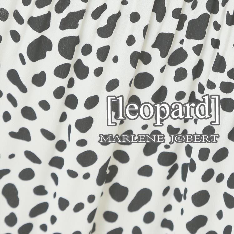 MARLENE JOBERT(マルレーヌジョベル)のショップニュース「【MARLENE JOBERT】leopard」
