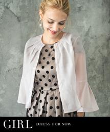 e0701c9069c790 GIRL ガールのトピックス「夏のお呼ばれにさらりと羽織れる半袖・長袖 ...