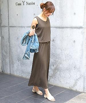 Fashion Letter(ファッションレター)のショップニュース「【NEW】リラックス感のあるリブワンピースが入荷!」