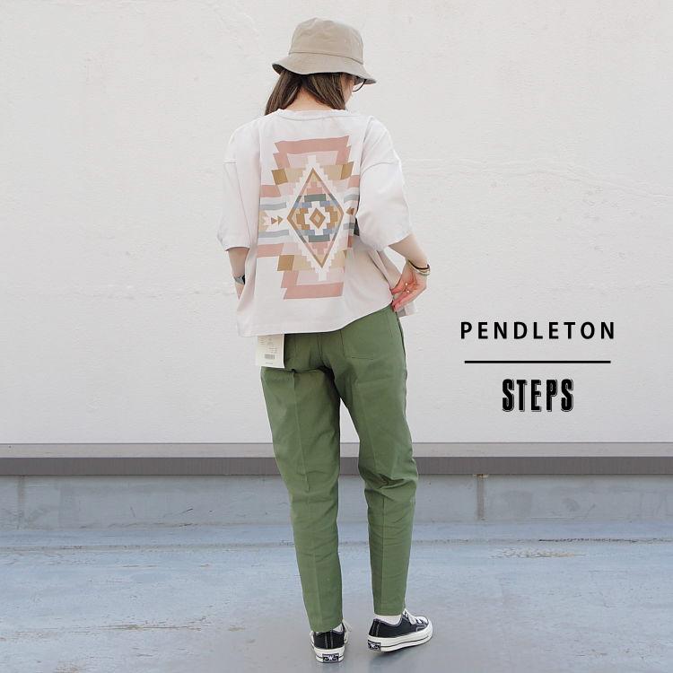 STEPS(ステップス)のショップニュース「【PENDLETON】バックプリントが目を引くビッグシルエット」