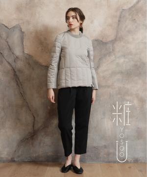 YOSOOU(ヨソオウ)のショップニュース「セーター感覚で着れる、YOSOOUのダウンプルオーバー。」