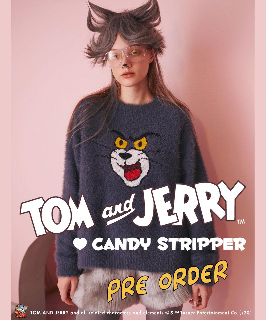 Candy Stripper(キャンディストリッパー )のショップニュース「【TOM and JERRY♡Candy Stripper】コラボアイテム予約開始♪」
