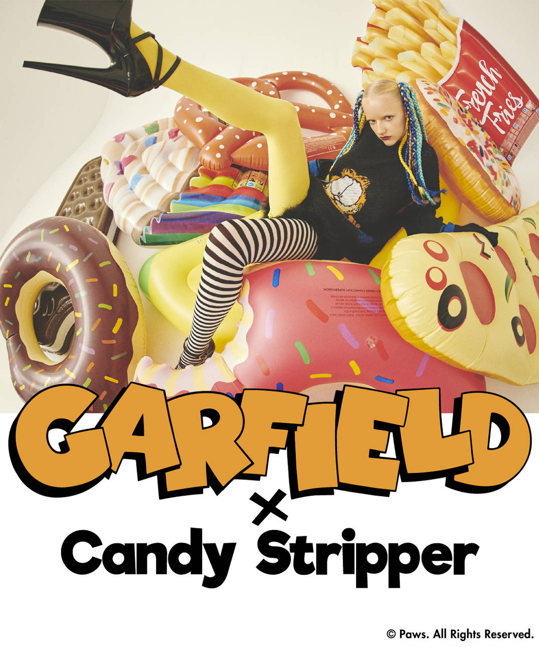 Candy Stripper(キャンディストリッパー )のショップニュース「【GARFIELD×Candy Stripper】コラボアイテム先行予約スタート!」