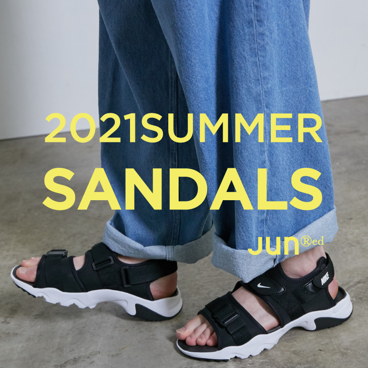 JUNRed(ジュンレッド)のショップニュース「【JUNRed】2021 SUMMER SANDALS」