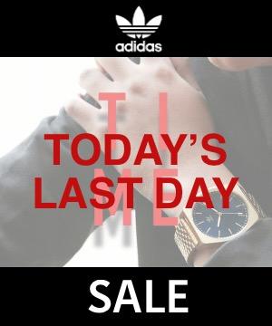 adidas watches(アディダスウォッチズ)のショップニュース「【明日1:59マデ!!】ZOZOTOWNタイムセール!1,000円 OFFクーポンプレゼント!」