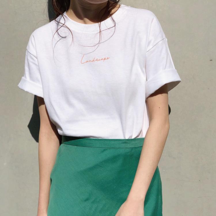 BANNER BARRETT(バナー バレット)のショップニュース「大人女子にぴったり!ほど良いサイズ感のロゴTシャツ!」