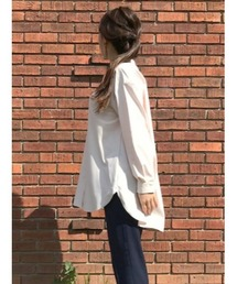 SUIT SELECT(スーツセレクト)のショップニュース「チュニック丈 バンドカラー ロングテールシャツ」