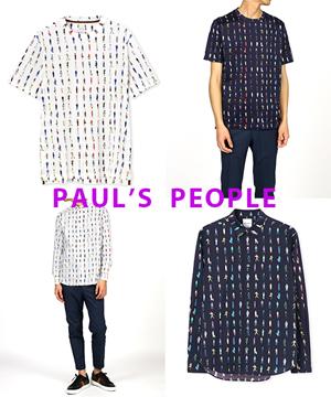 626e4b75e7cb Paul Smith(ポール・スミス)のショップニュース「【Paul's People】新作