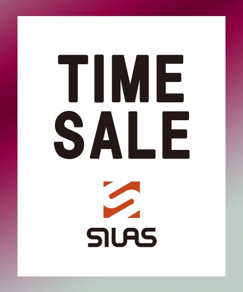 SILAS&MARIA(サイラス&マリア)のショップニュース「【MAX70%OFF!!】12/24(月)まで大人気のロゴアイテムを中心に厳選したスペシャルタイムセールを開催!!」