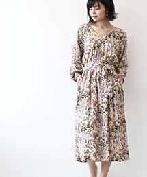 Jines(ジネス)のショップニュース「【NEW ARRIVAL】秋色ノスタルジックなフラワープリント 」