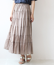 Jines(ジネス)のショップニュース「大人マキシは着こなす◎今季注目の#ティアードスカート も♪」