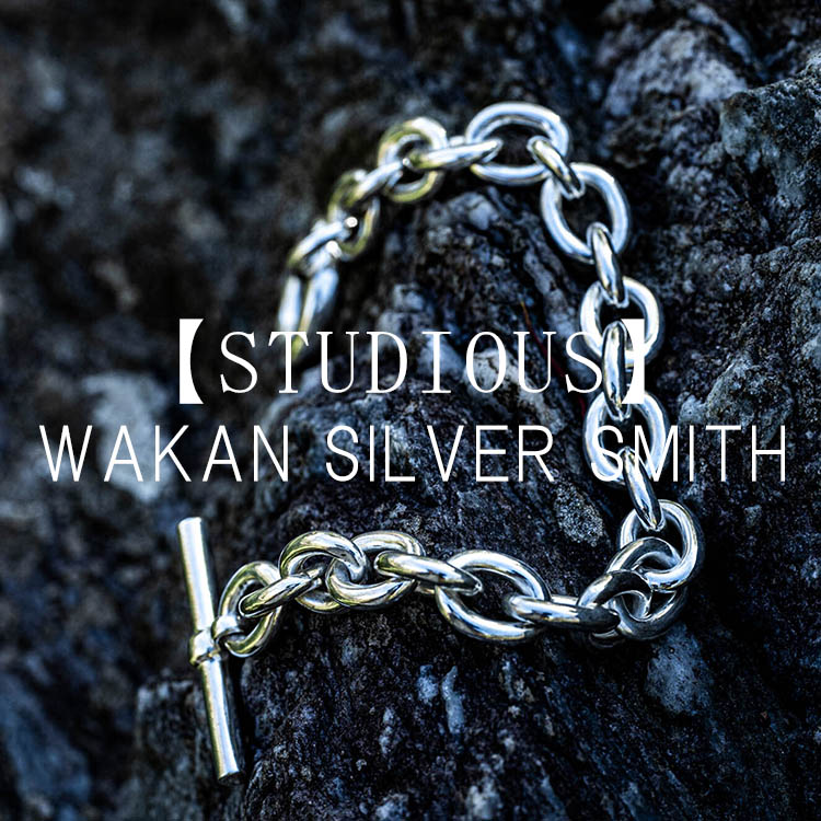 STUDIOUS MENS(ステュディオス メンズ)のショップニュース「【STUDIOUS】WAKAN SILVER SMITH Collection!!」
