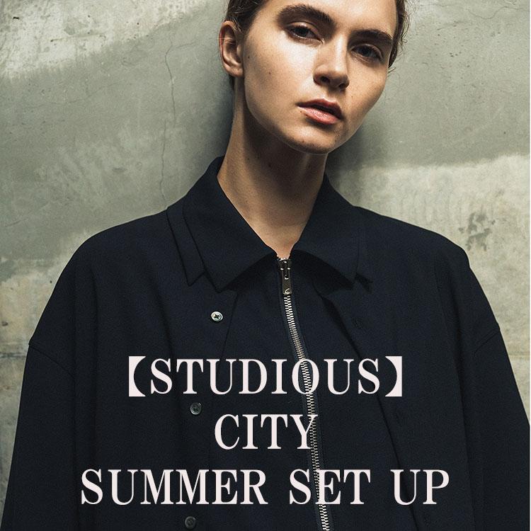 STUDIOUS MENS(ステュディオス メンズ)のショップニュース「【STUDIOUS】CITY新作、サマーウールセットアップ!!」