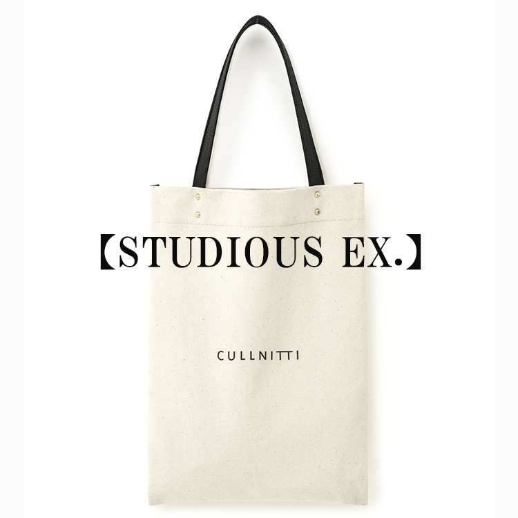 STUDIOUS MENS(ステュディオス メンズ)のショップニュース「【CULLNI x ITTI】STUDIOUS別注トートバッグ、発売開始!!」