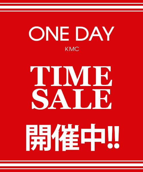 ONE DAY KMC(ワンデイケイエムシー)のショップニュース「【ZOZO TIMESALE】開催中!」